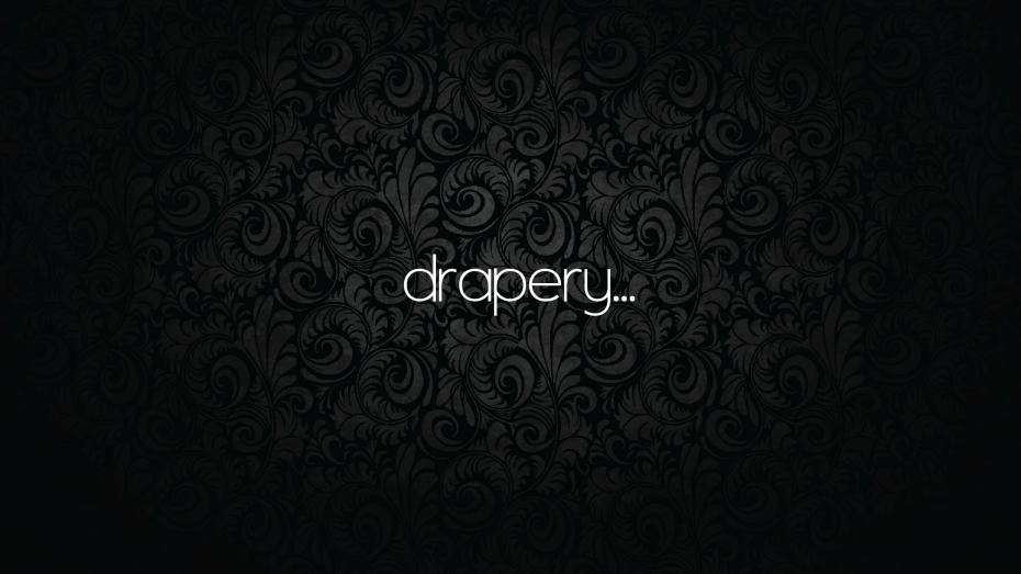 drapery.